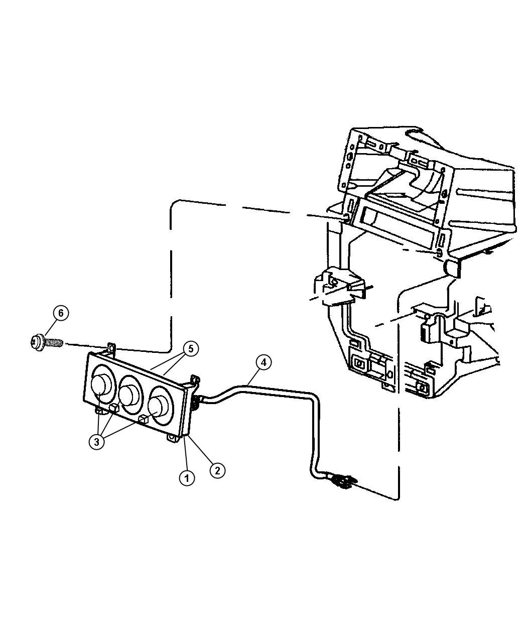 Jeep Grand Cherokee Control Auto Temp Control
