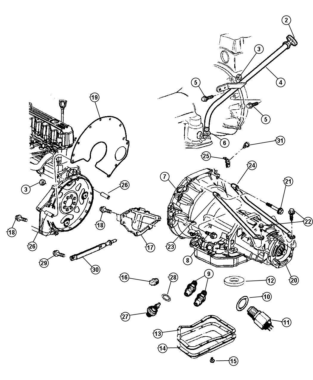 Jeep Grand Cherokee Transmission Diagram