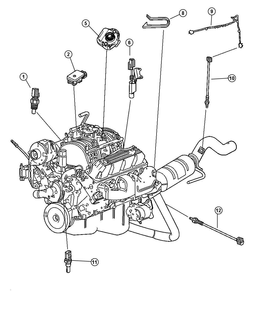 Dodge Stratus Sensor Coolant Temperature Torque