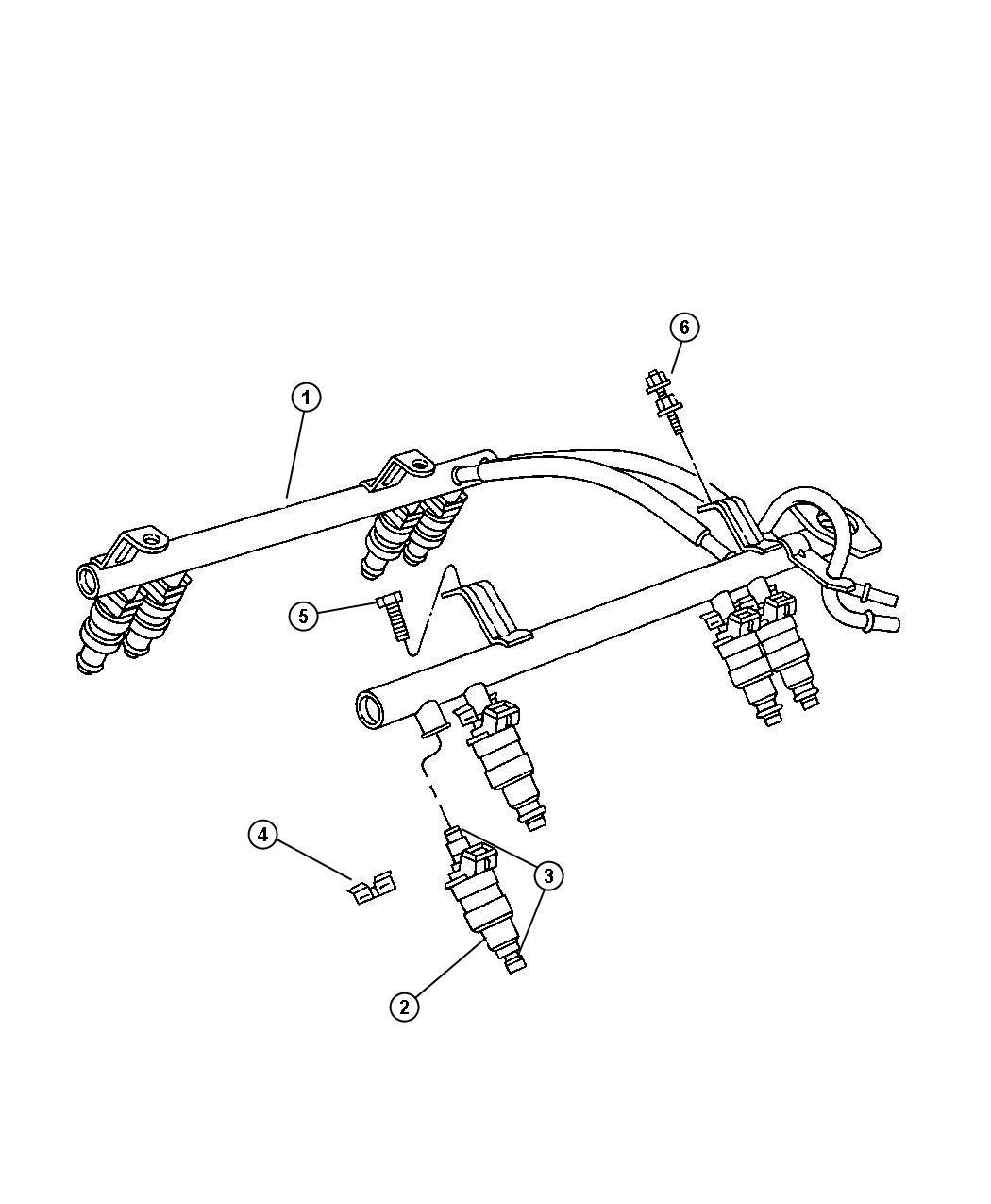 Jeep Wrangler Injector Fuel