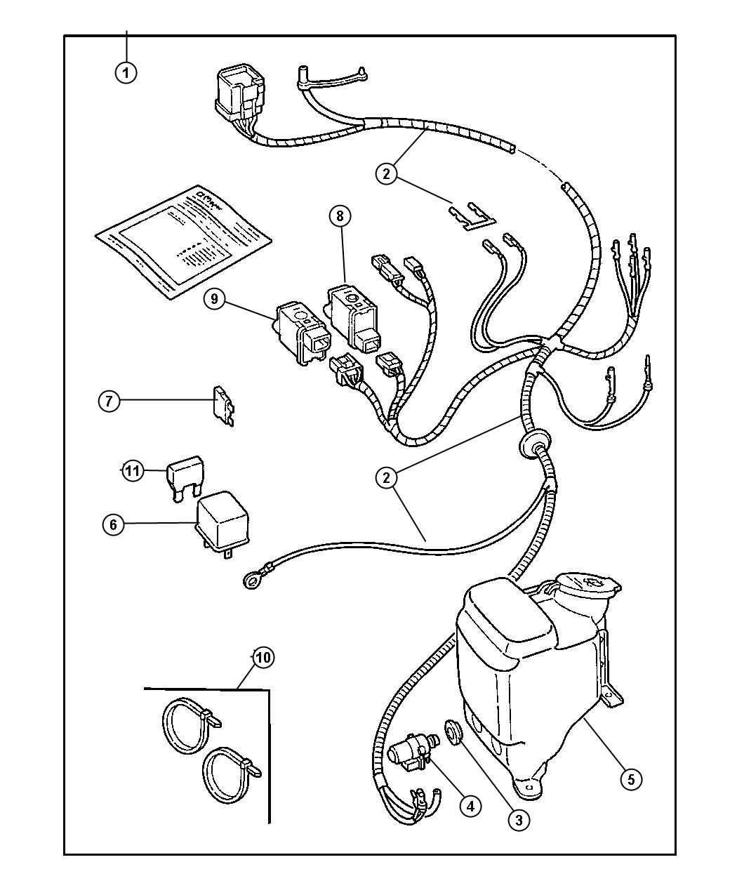 Jeep Wrangler Wiring Package Enclosure