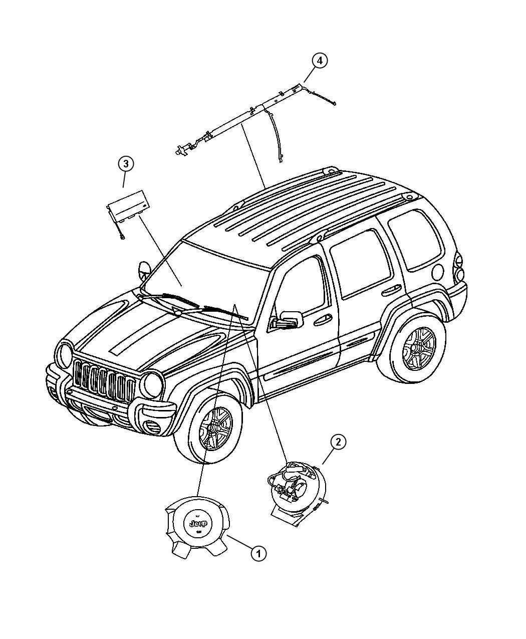 Jeep Liberty Clockspring Genmultistagehorns Notespeed