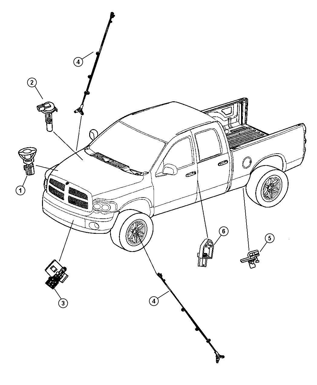 Chrysler Pacifica Sensor Ambient Temperature