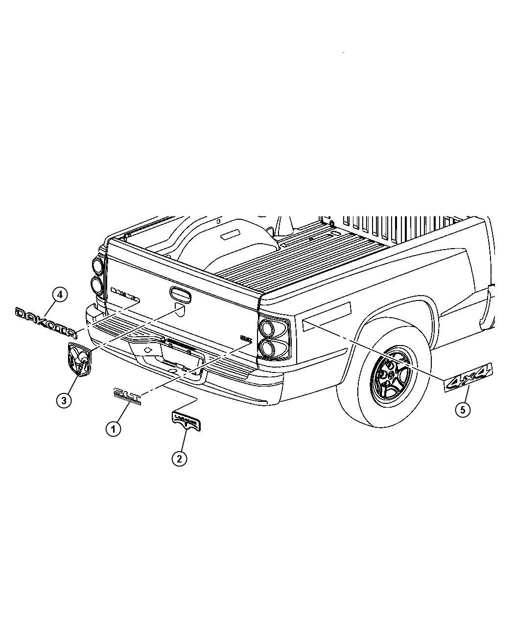 Dodge Dakota Factory Parts Pictures To Pin