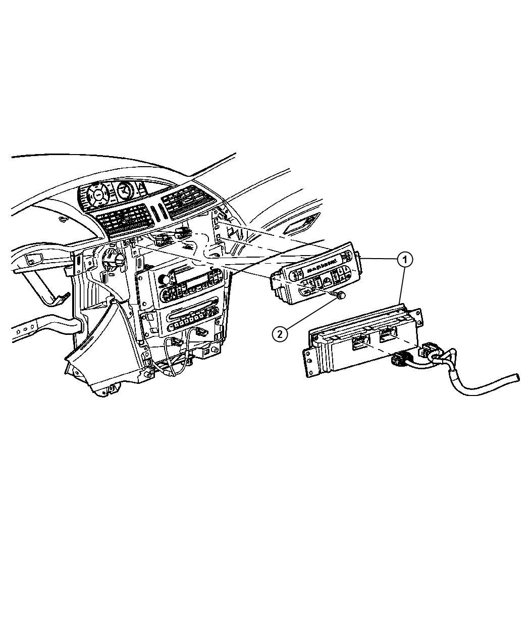 Chrysler Pacifica Control A C And Heater Haf With