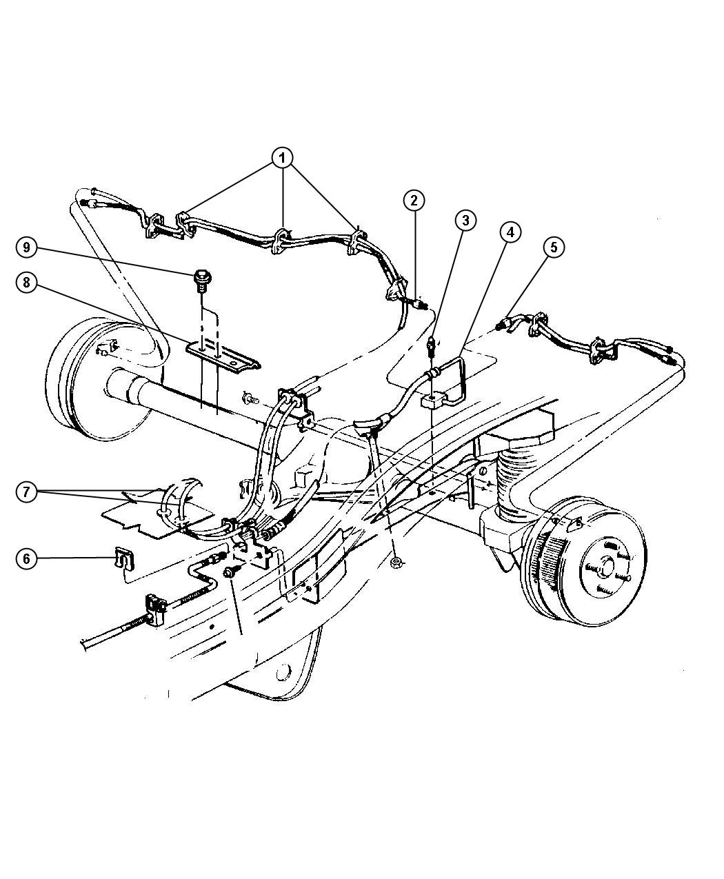 Service Manual Jeep Grand Cherokee Diagram Showing