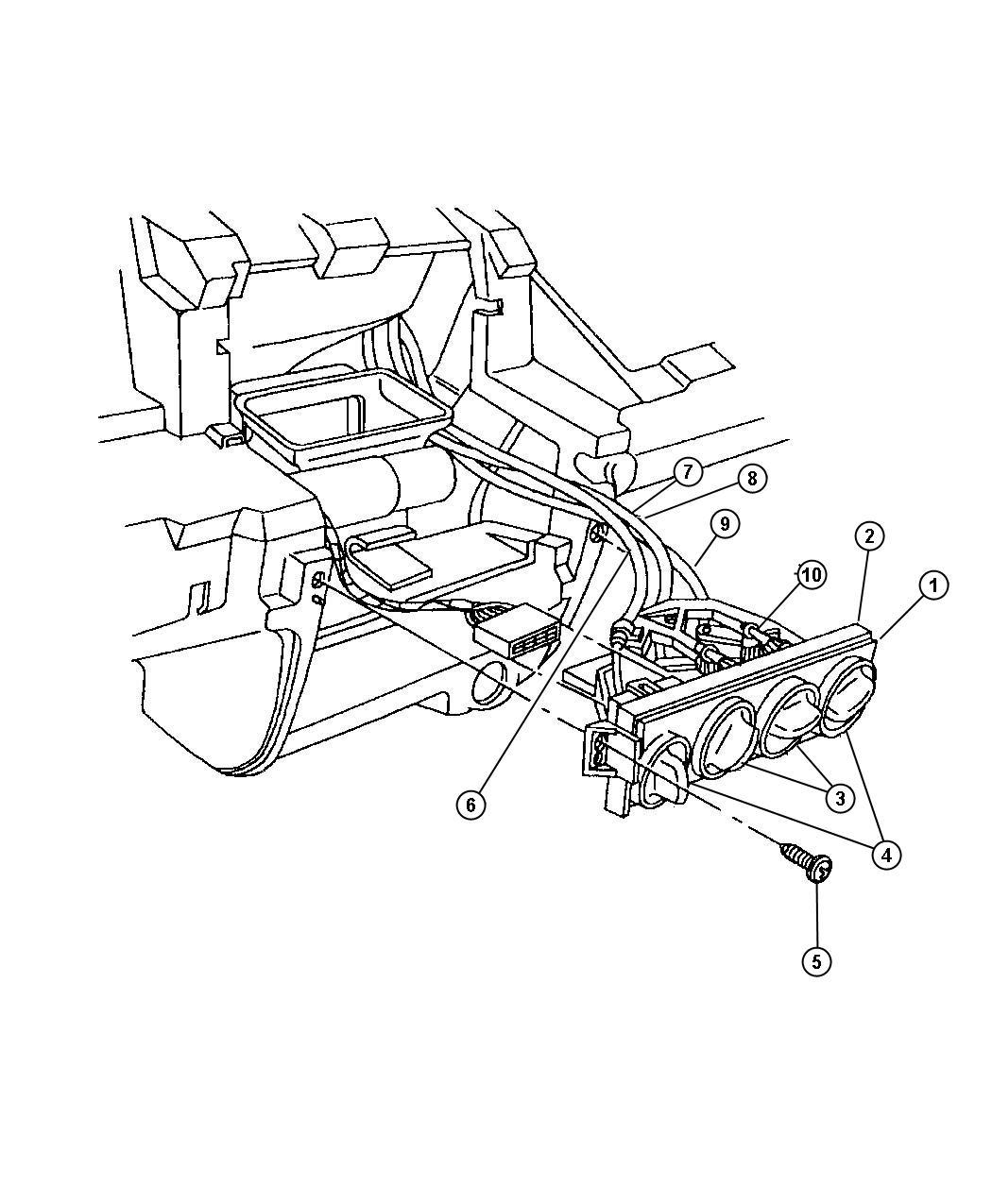 Dodge Neon Door Parts Diagrams