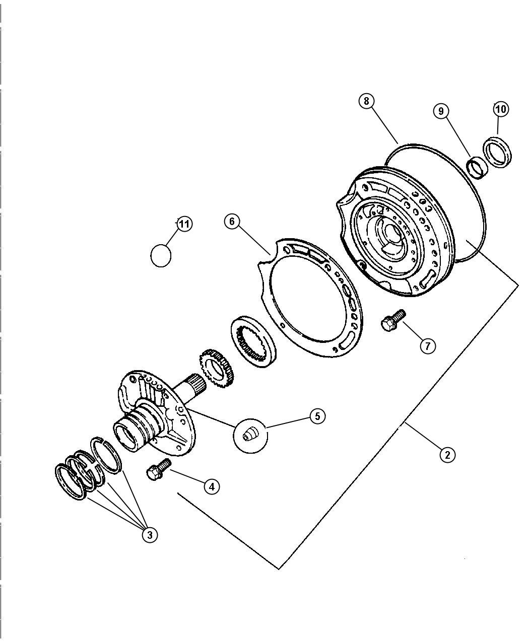 Dodge Dakota Used For Seal And Gasket Package