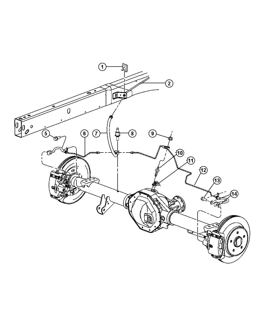 Dodge Ram Parking Brake Diagram Sketch Coloring Page
