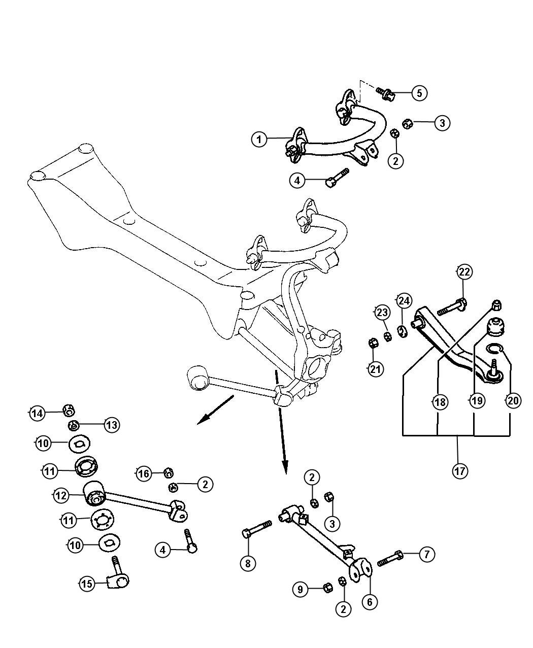 Rear Suspension Parts