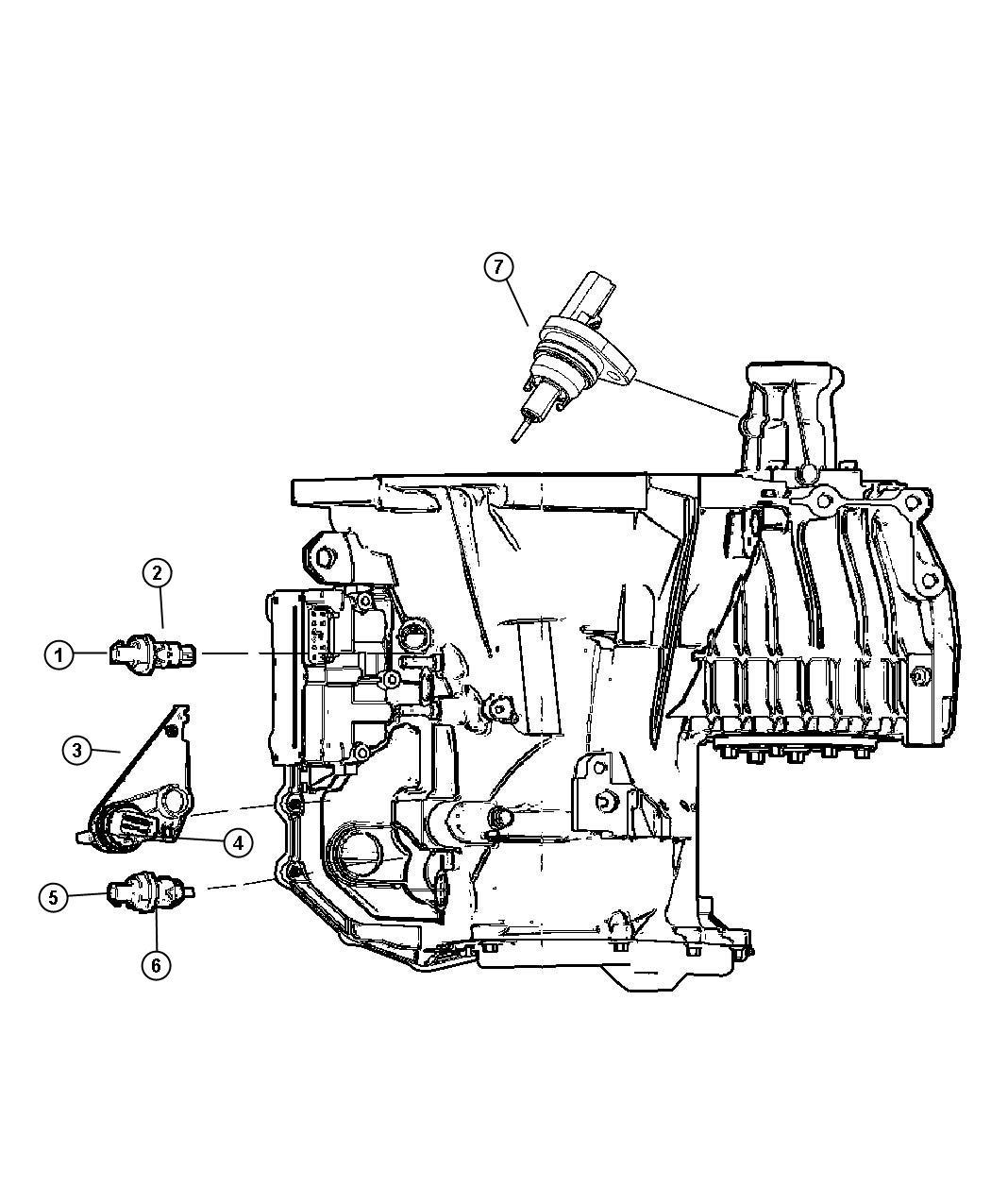 Dodge Stratus Sd Sensor Location Dodge Free Engine Image