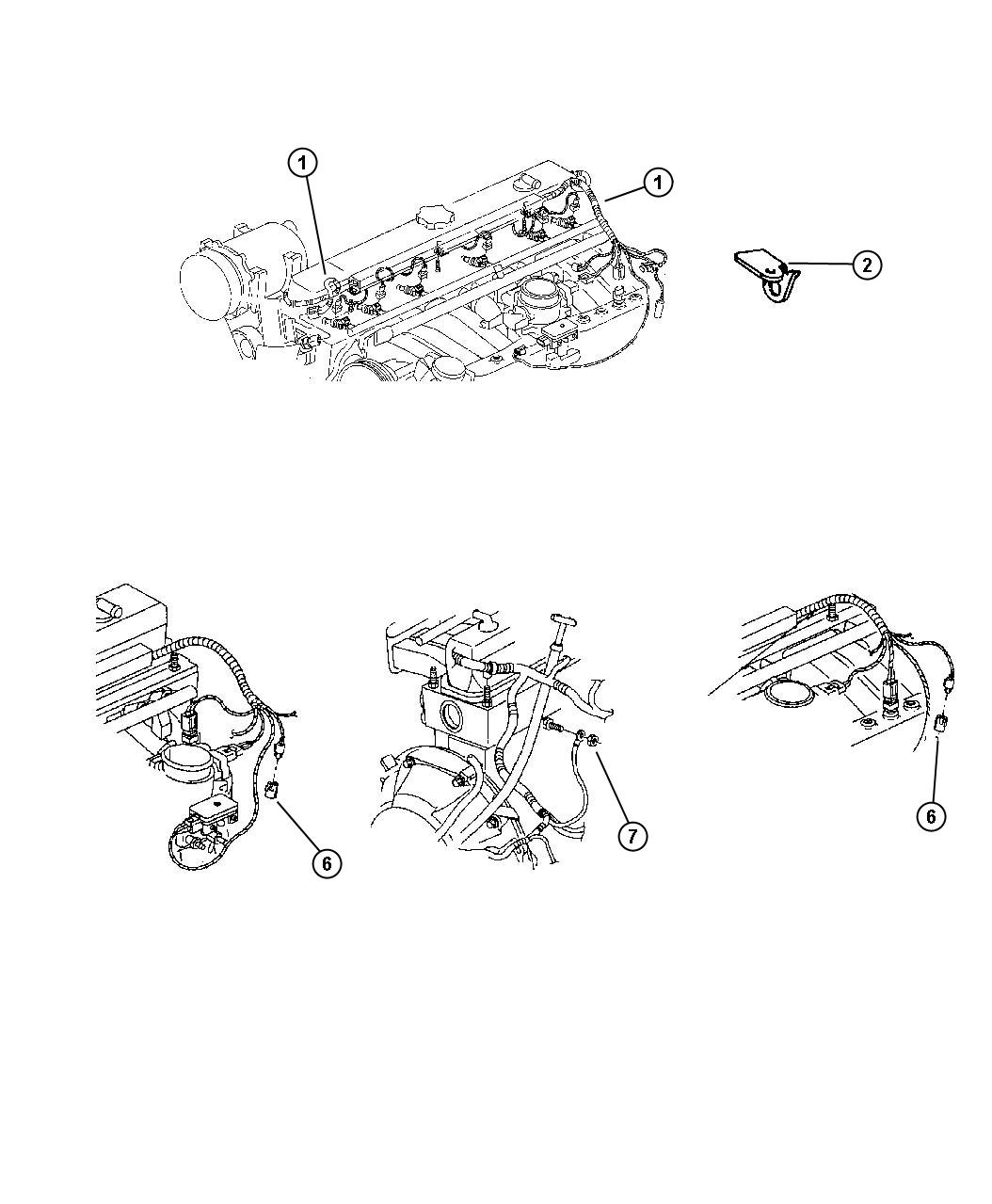Jeep Wrangler Wiring Engine Amp Related Parts