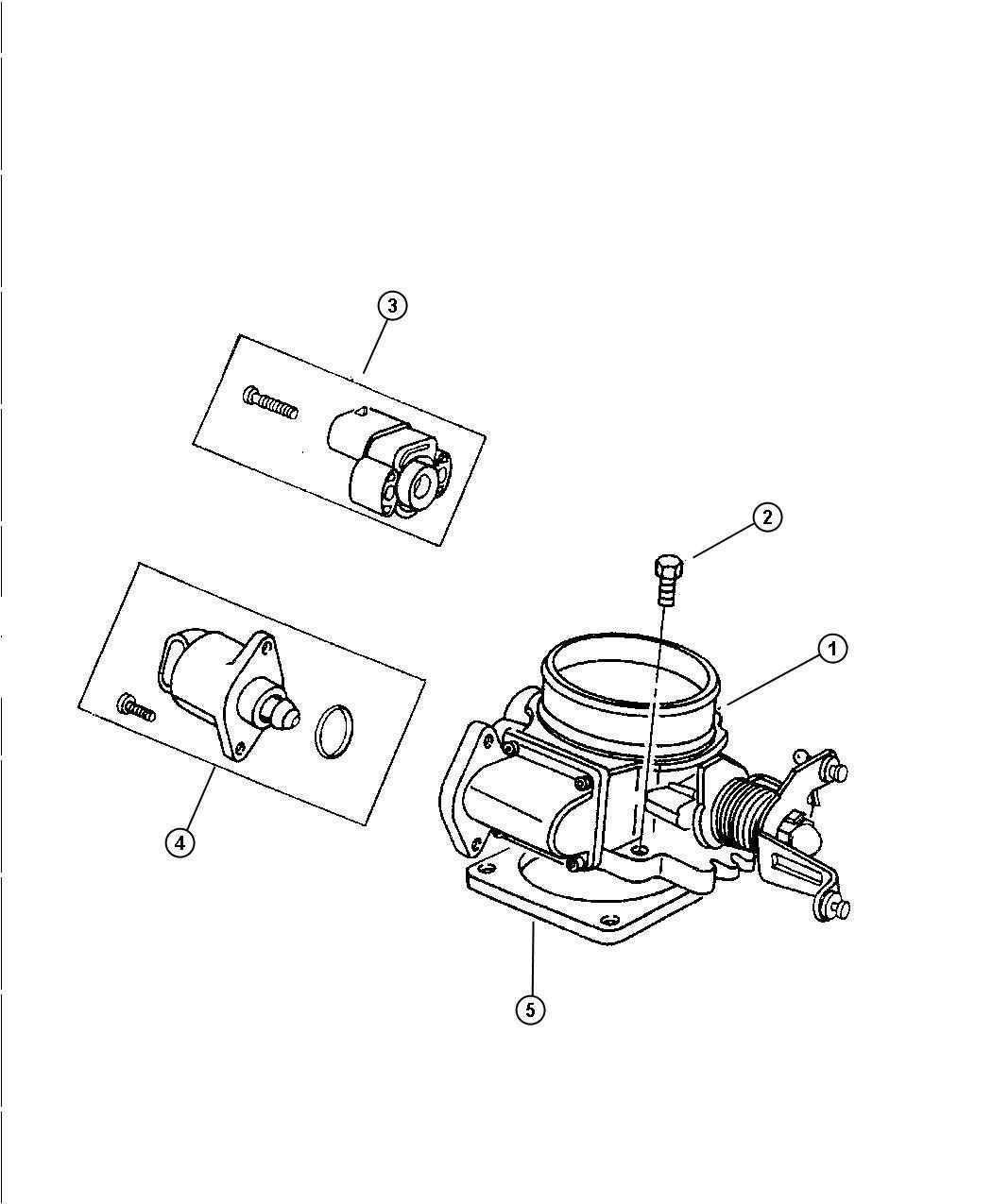 Jeep Wrangler Throttle Body