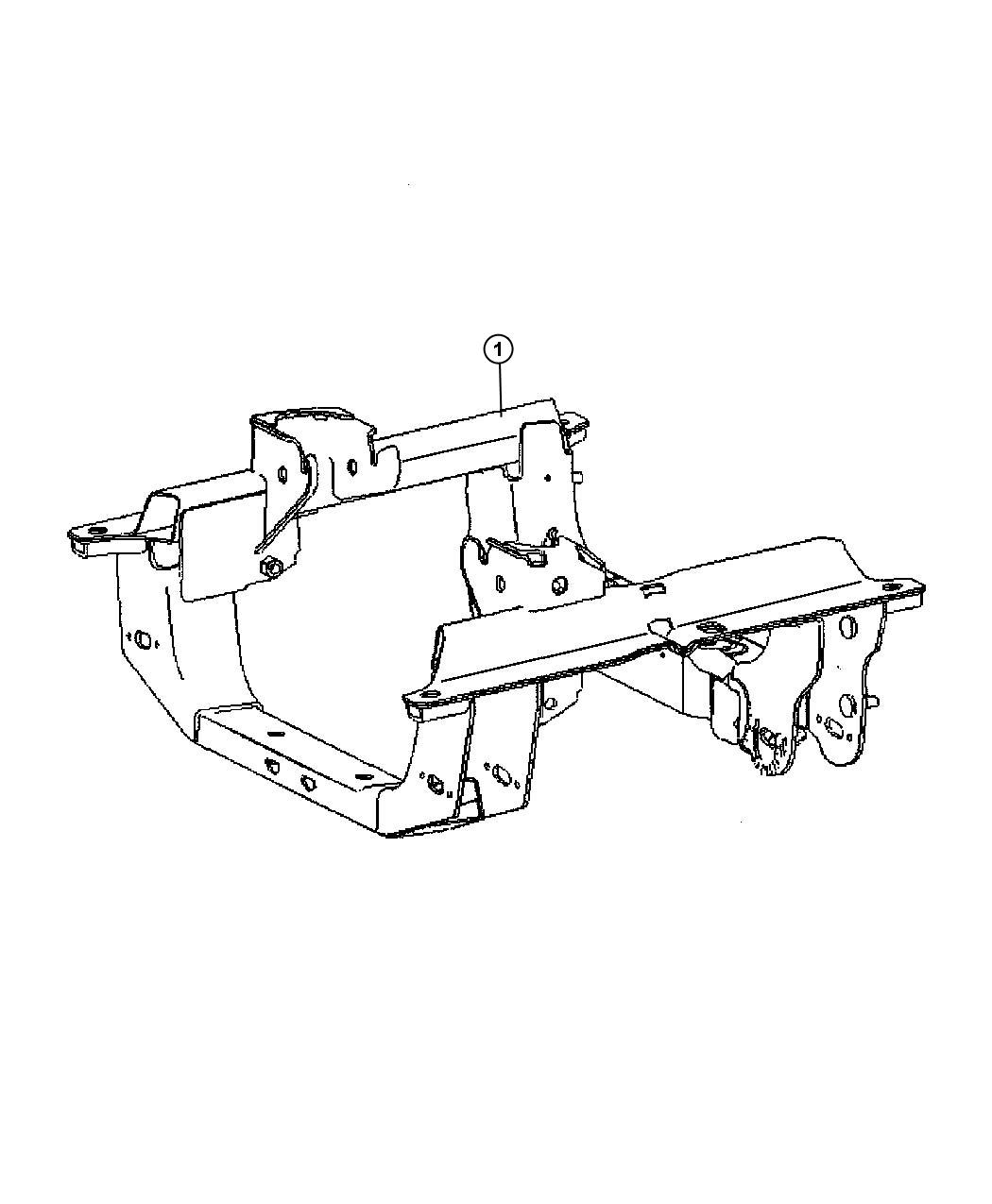 Jeep Liberty Cradle Front Suspension Engines
