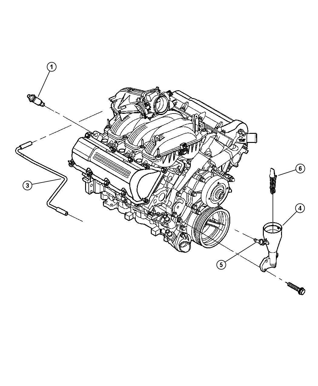 Jeep Grand Cherokee Baffle Oil Fill None Oil Fill