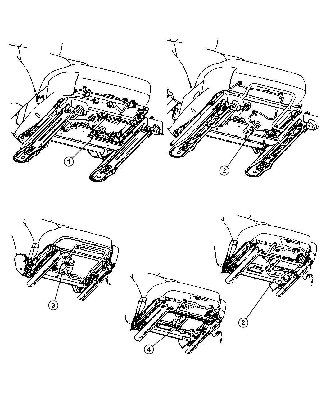 Dodge Ram Harness Wiring Heated Seat Seat Wiring