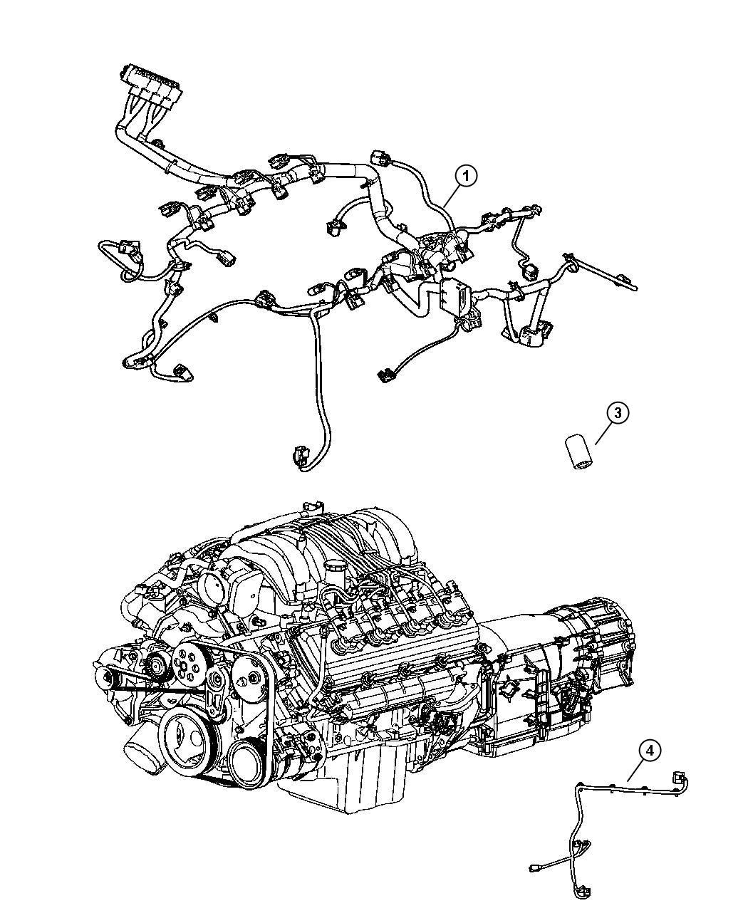 Dodge Ram Wiring Jumper Multiple Displacement