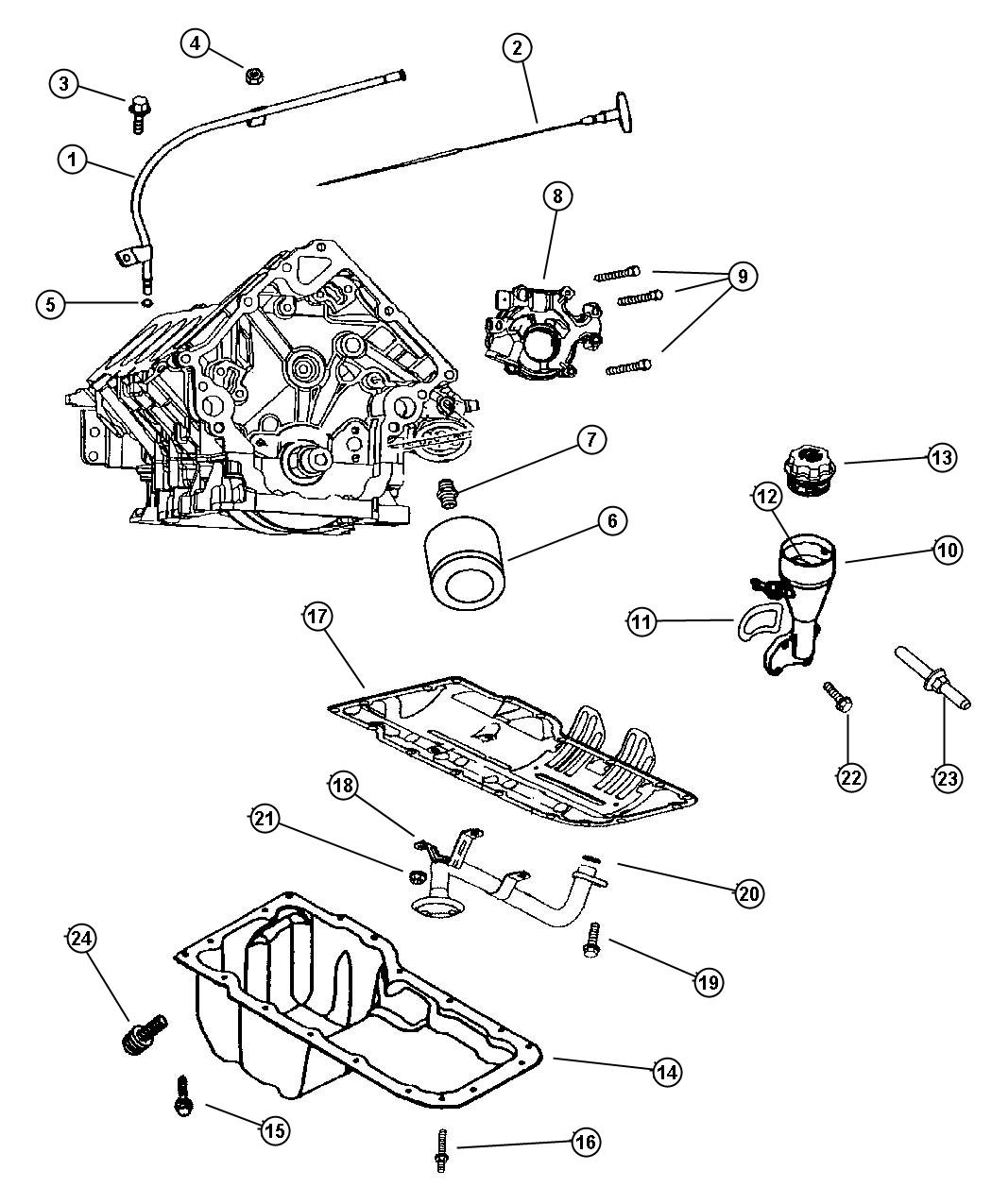 Jeep Wrangler Indicator Engine Oil Level Two Wheel