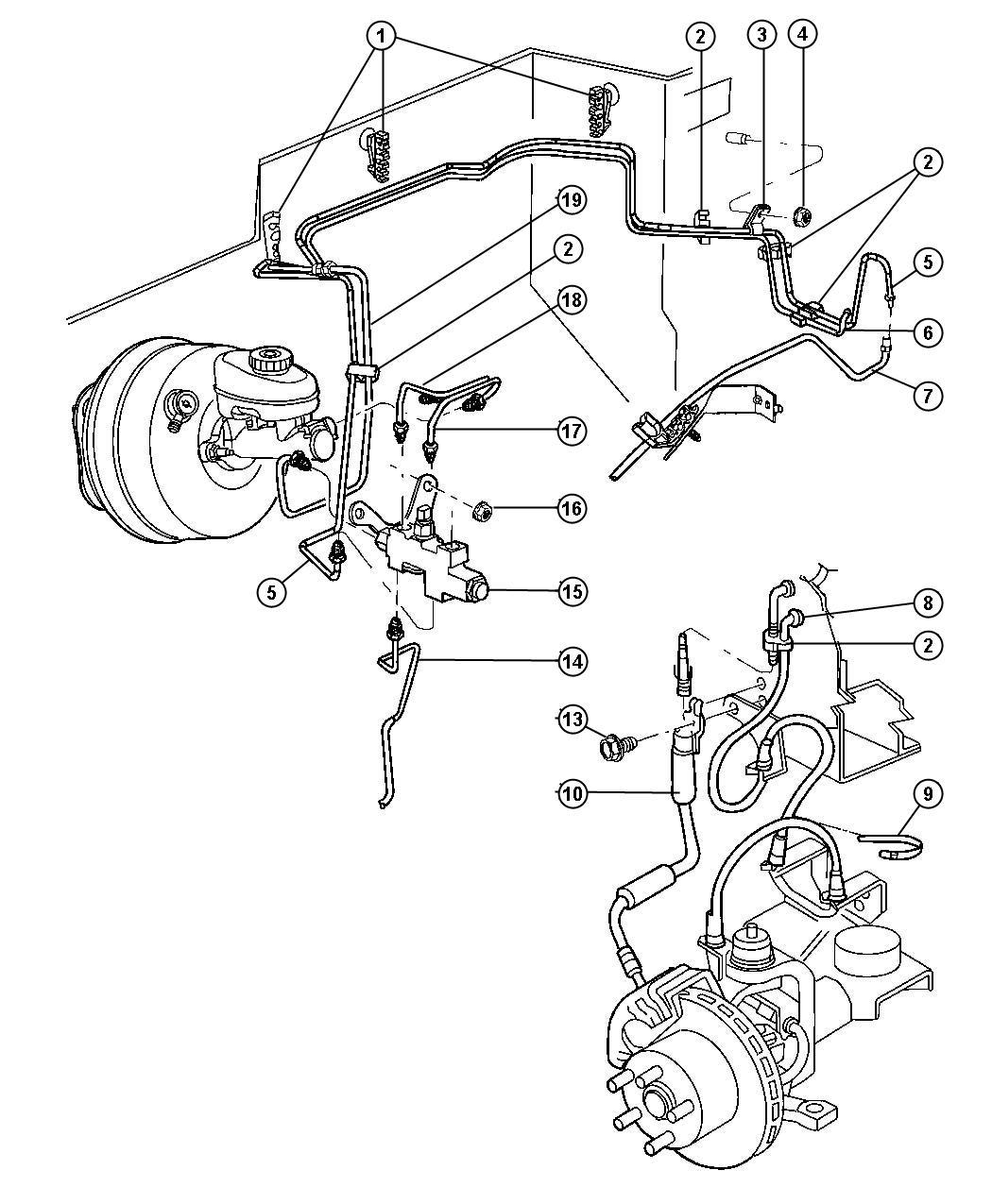 Jeep Wrangler Valve Proportioning Cmu