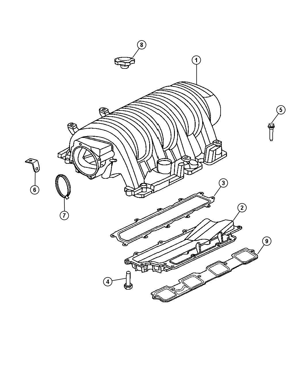 Chrysler 300 Intake Manifold