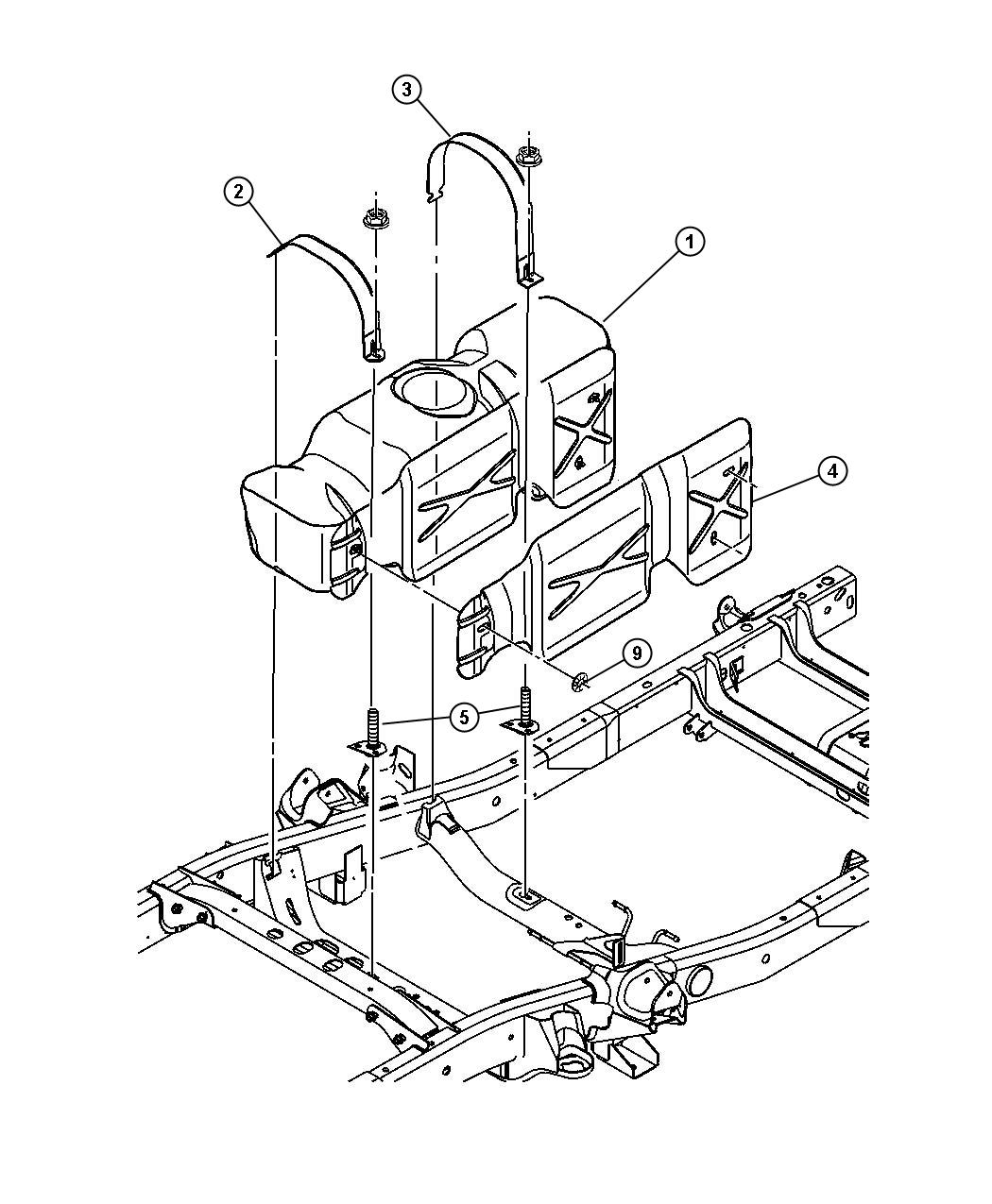 Dodge Ram Tube Fuel Vapor Recirculation Nfv Fuel