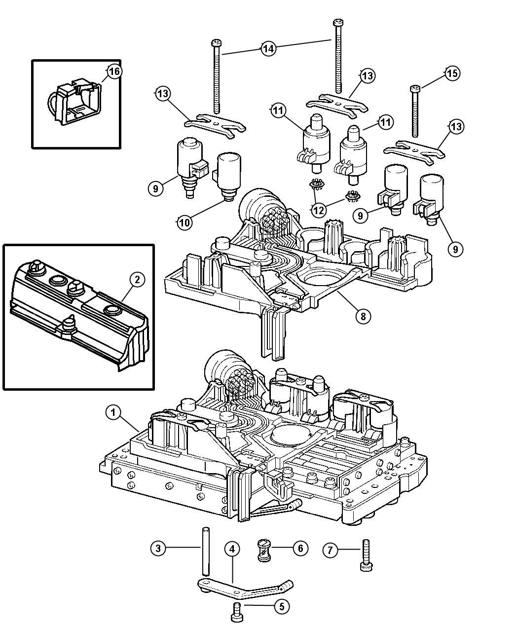 Jeep Grand Cherokee Connector Connector Assembly