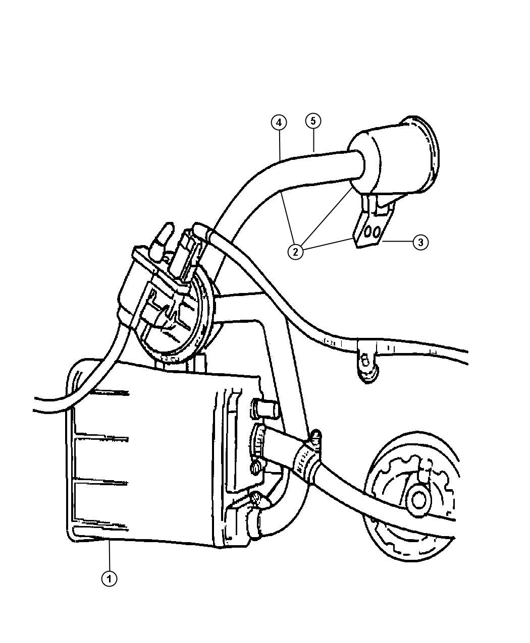 Vacuum Canister And Leak Detection Pump