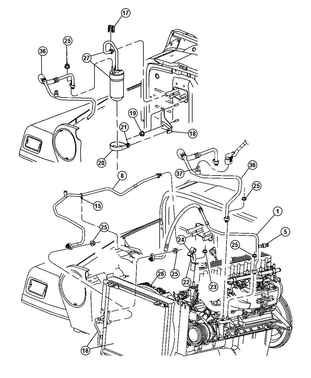 Diagram Jeep Wrangler Parts Diagram Wiring