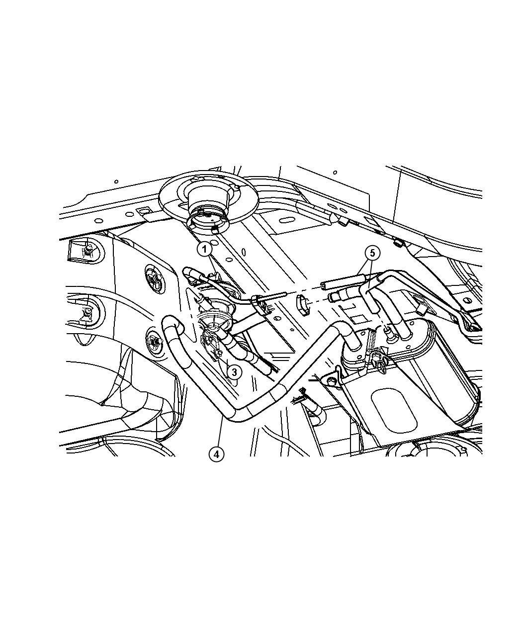 Jeep Liberty Leak Detection Pump 3 7l All 3 7l 6 Cyl