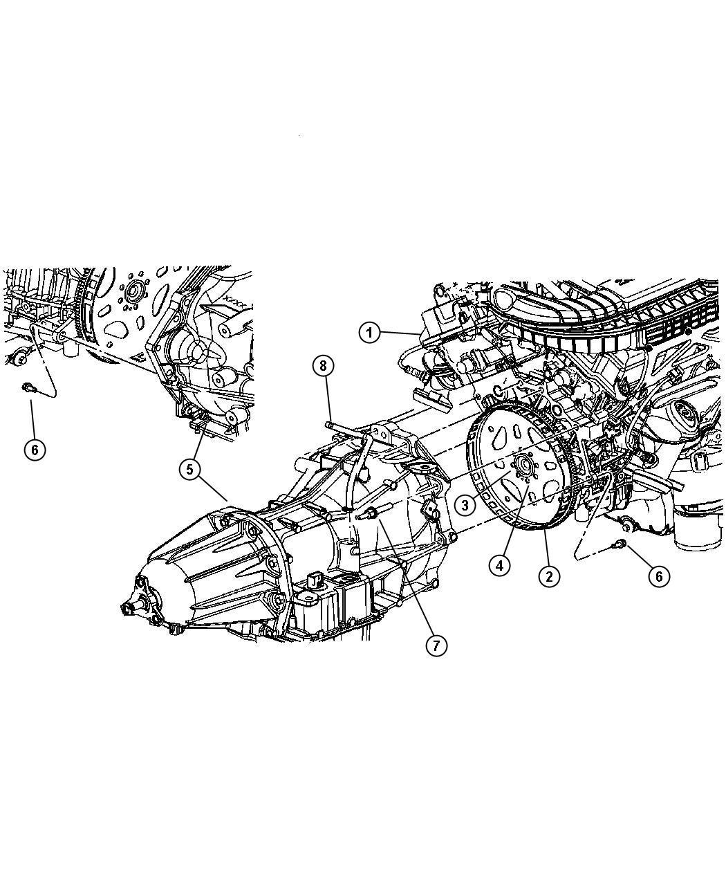 Dodge Charger Hose Transmission Vent Mounting