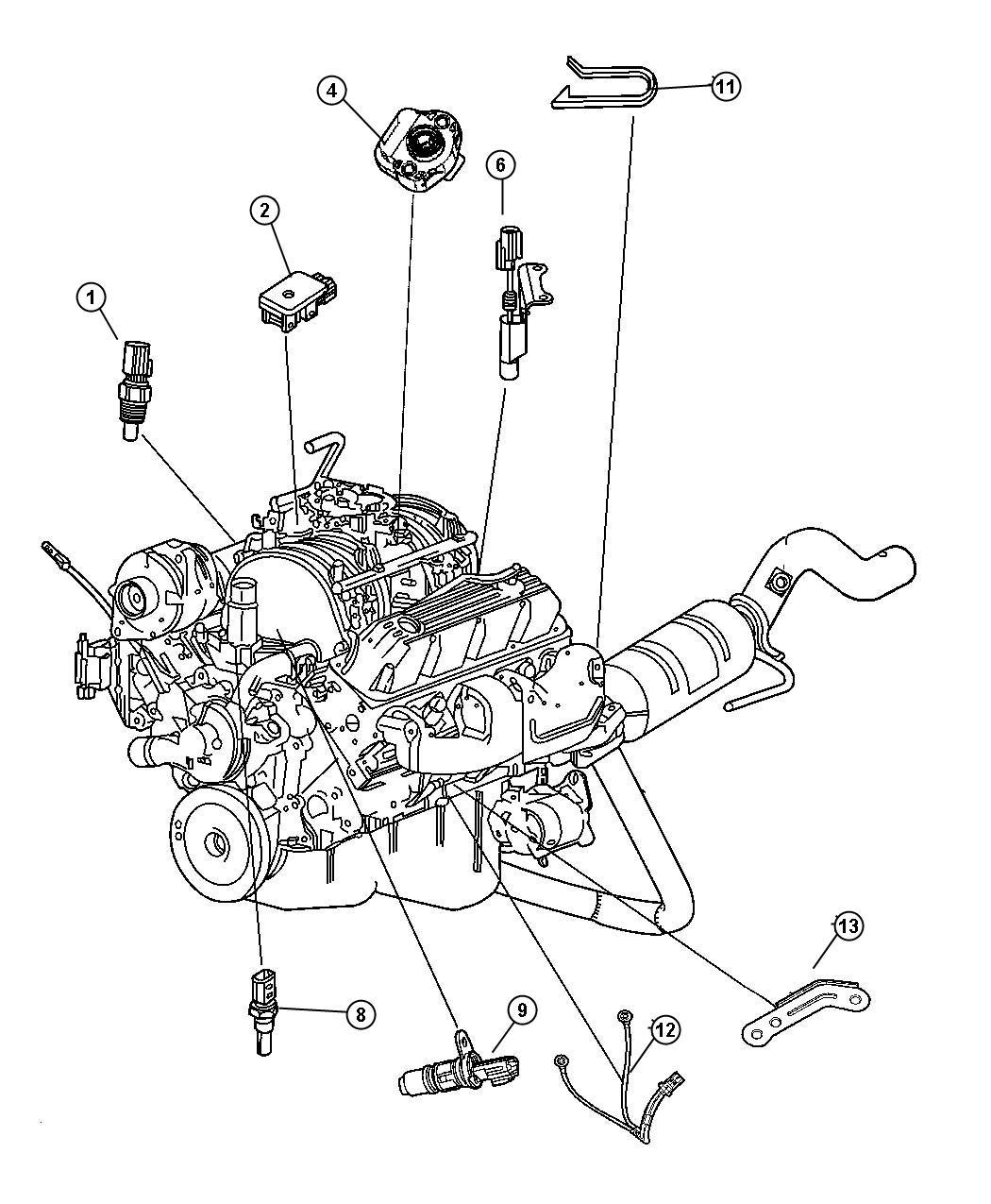 Chrysler 300 Screw Throttle Position Sensor Bnd