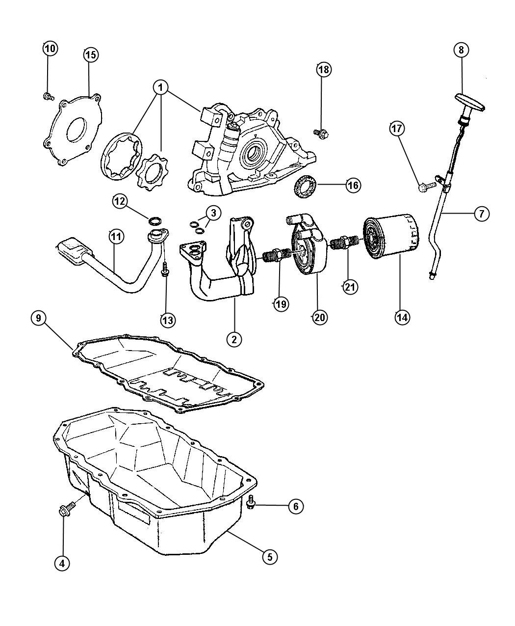Chrysler Pacifica Used For Screw And Washer Hex Head