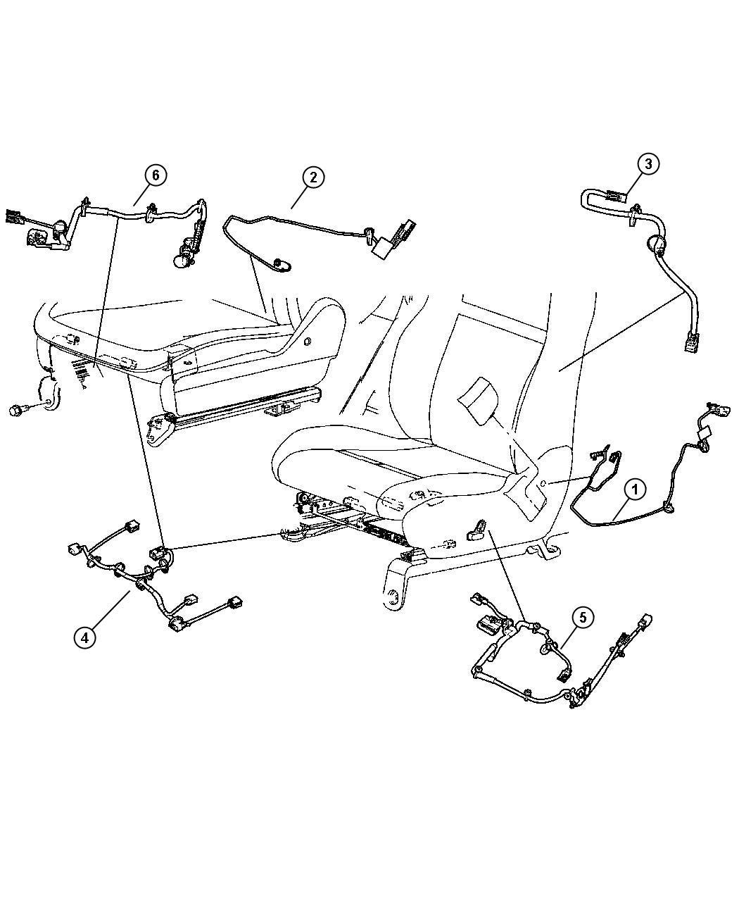 Jeep Commander Wiring Pretensioner Pretentioner Seat