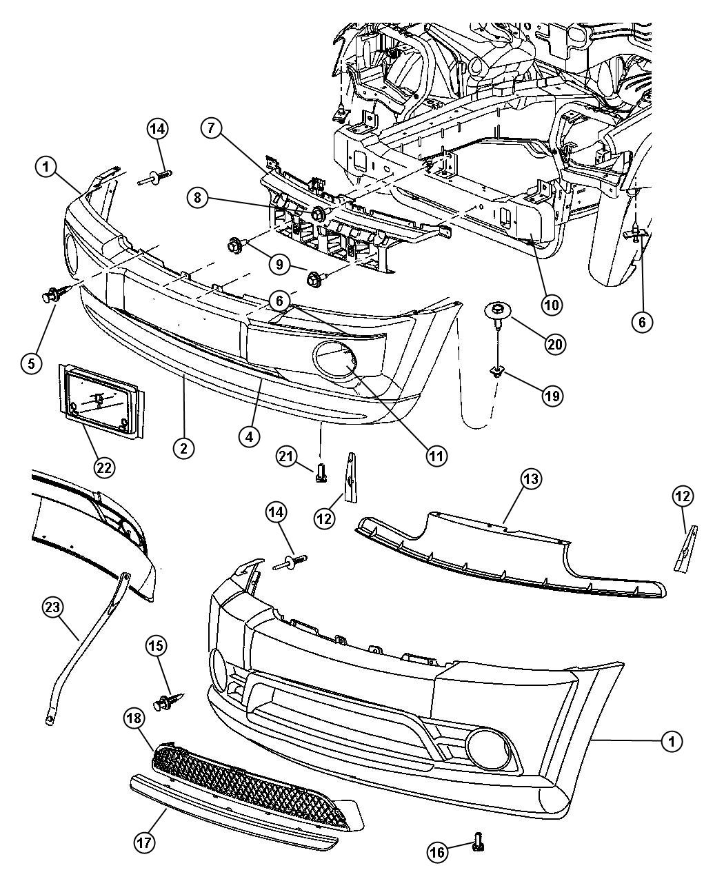 Chrysler Pacifica Used For Screw And Washer Self Tapping