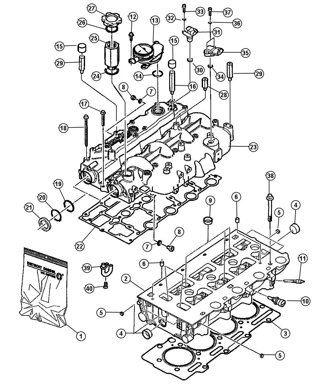 Dodge Caravan Sensor Coolant Temperature Temperature