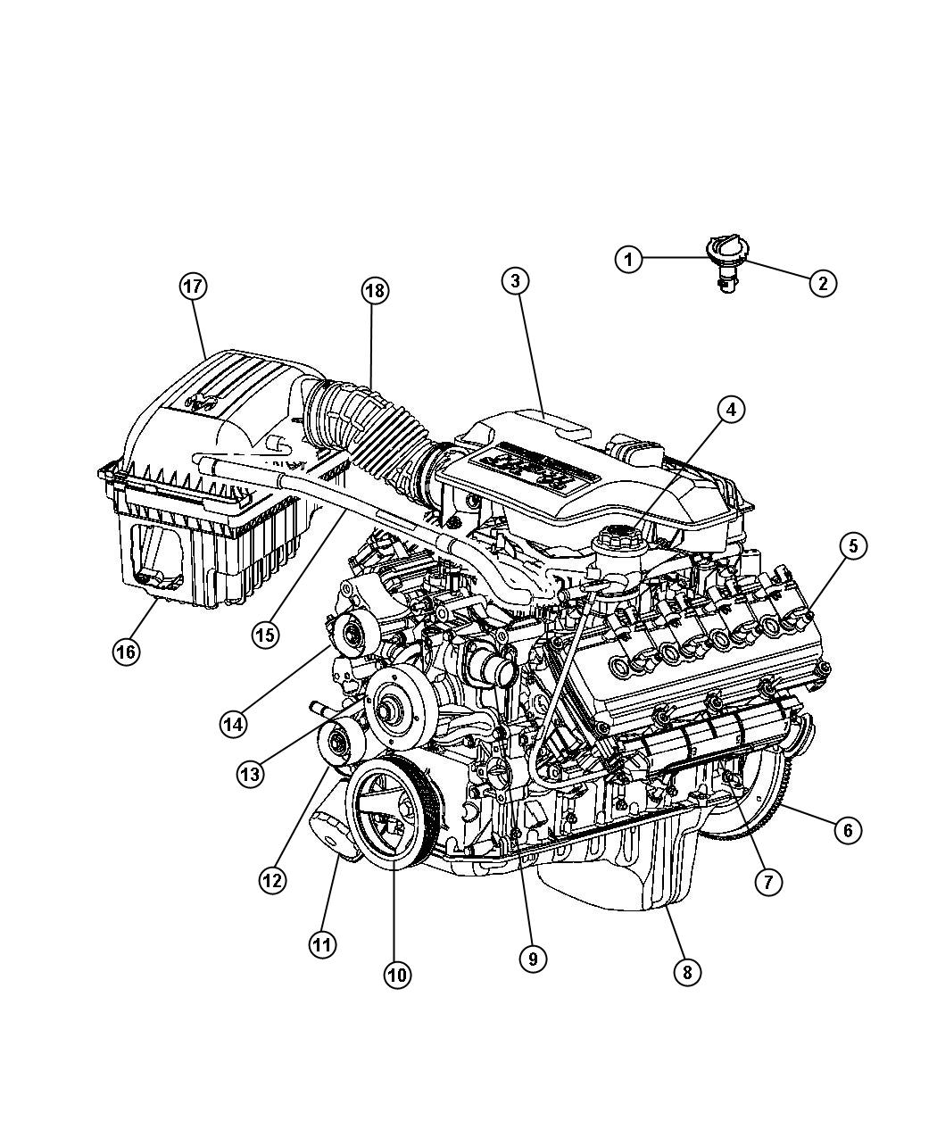 Dodge Ram Serpentine Belt Diagram