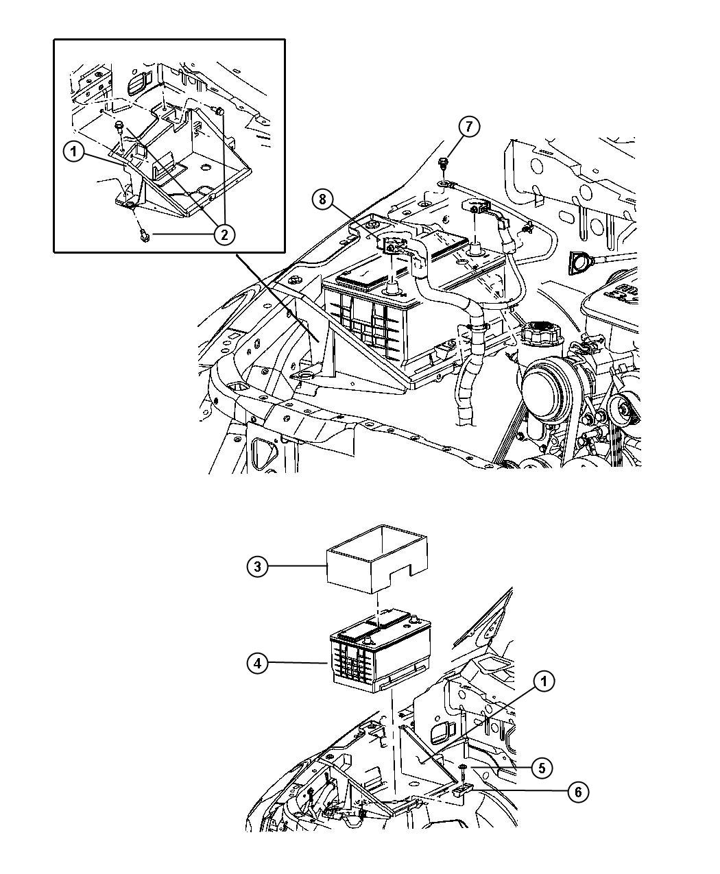 Chrysler Aspen Wiring Battery