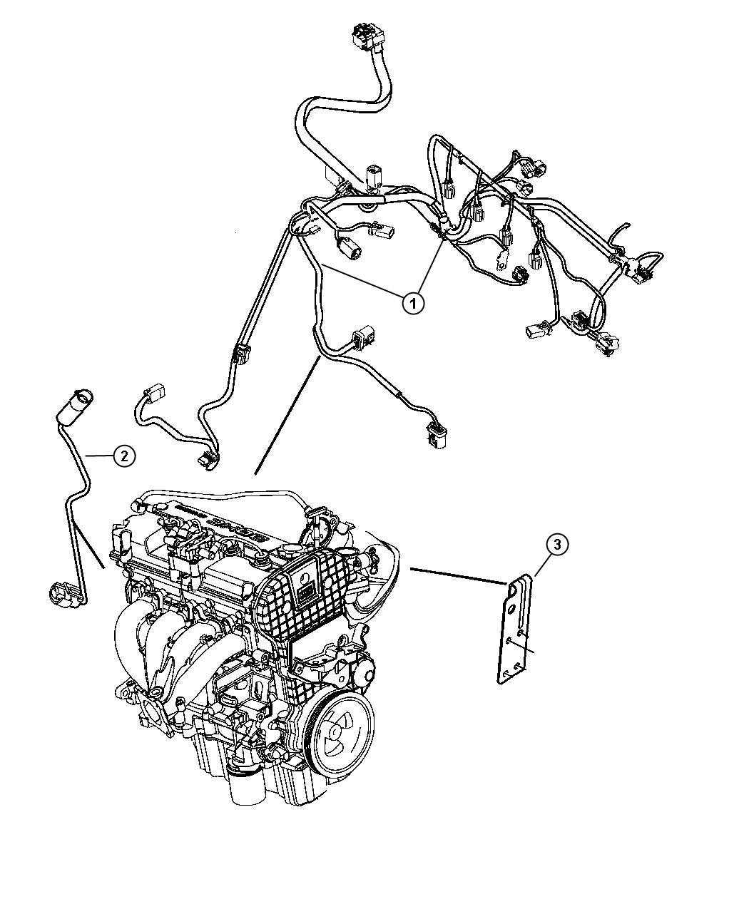 Chrysler Sebring Wiring Engine