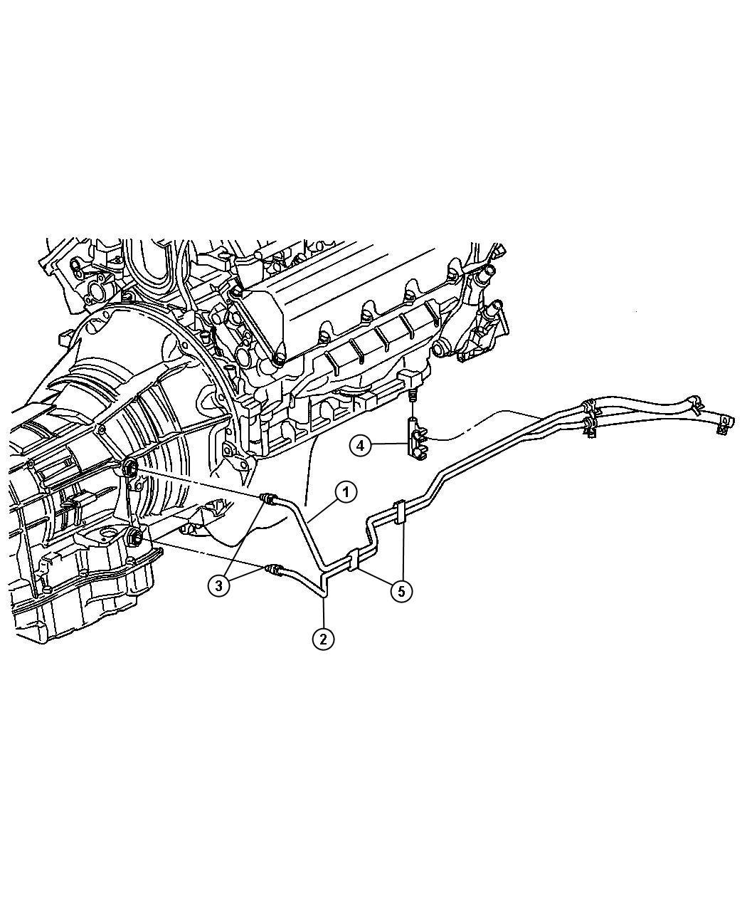 Dodge Dakota Used For Tube And Hose Oil Cooler