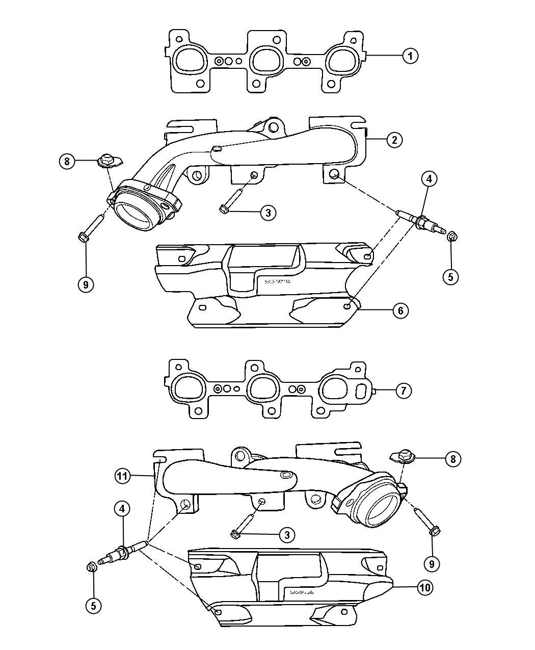 Dodge Durango Bolt Screw Used For Bolt And Washer Used