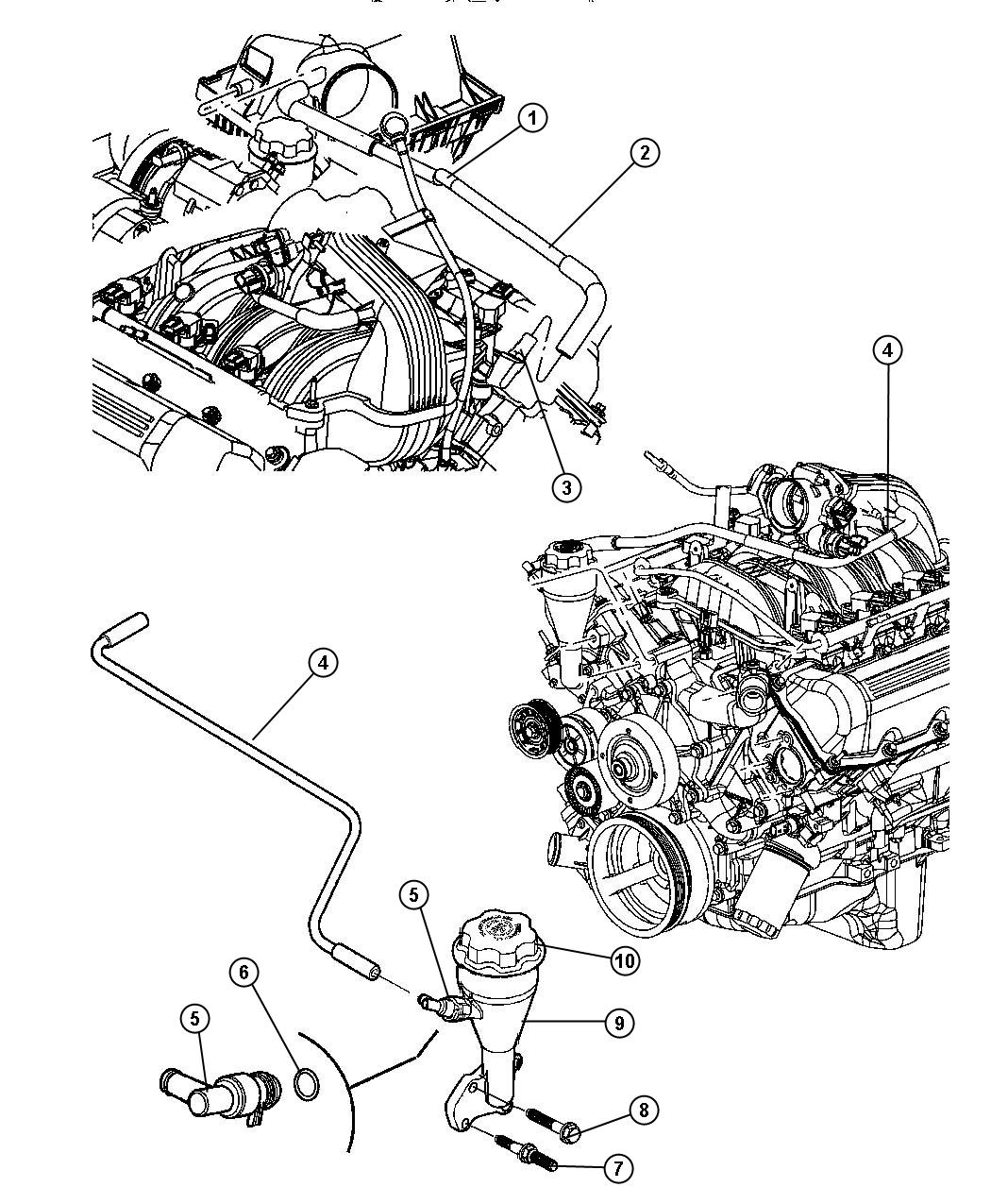 Dodge durango pcv valve location 2007 dodge nitro engine spark plug diagram at ww