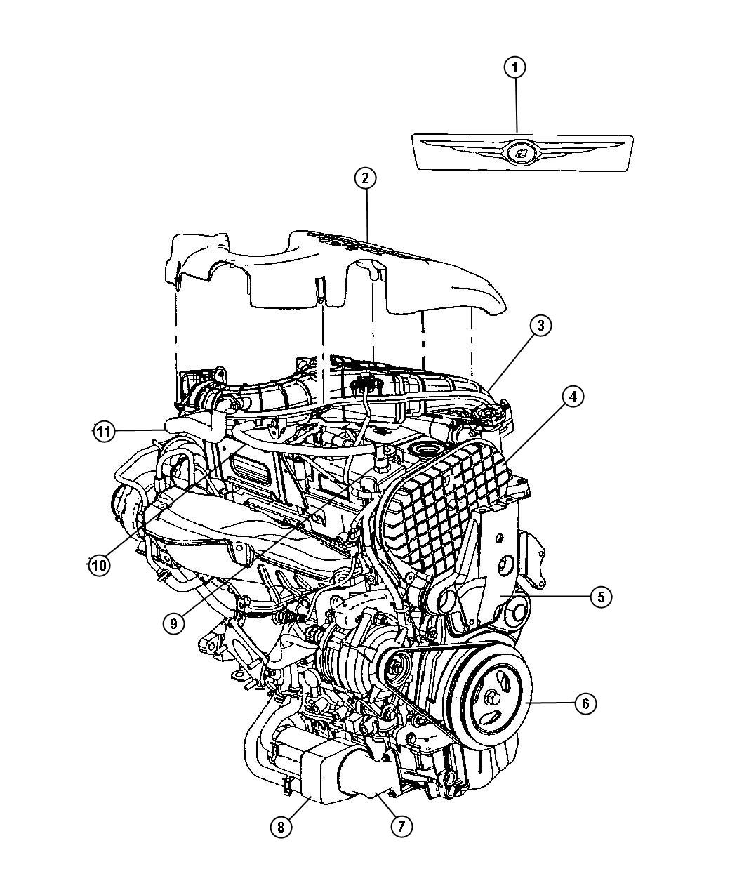 Pt Cruiser Parts Diagram