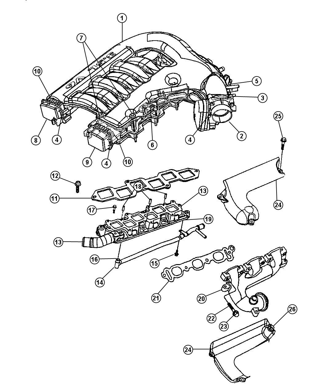Dodge Charger Actuator Actuator Package Manifold Tuning