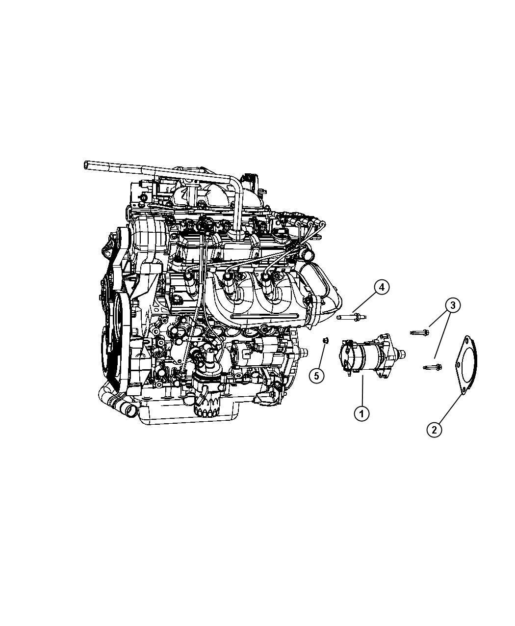 Chrysler Town Amp Country Starter Engine