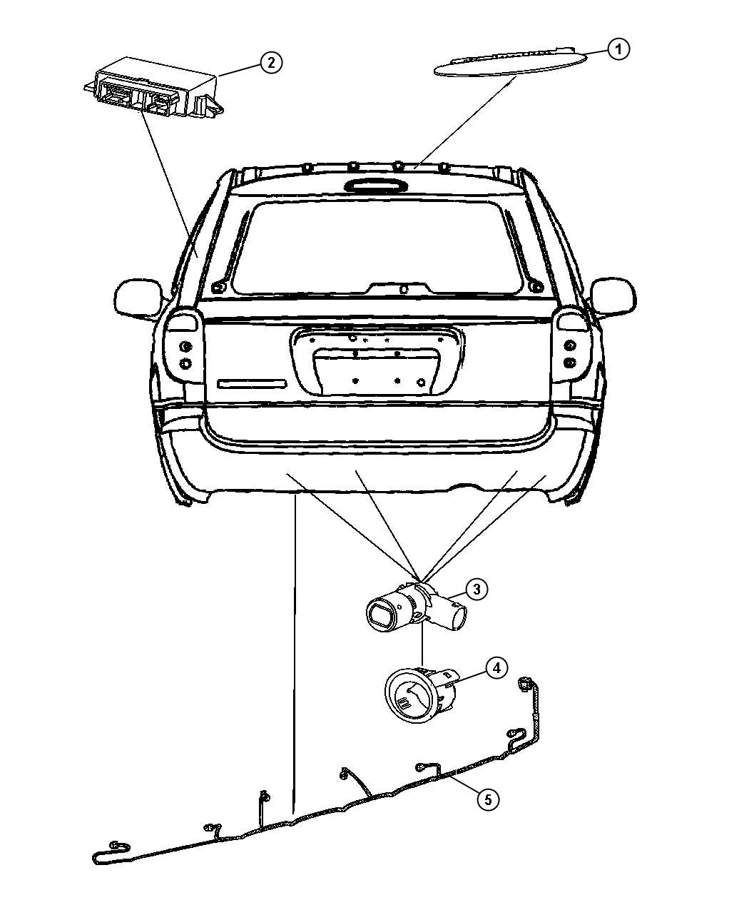 Chrysler Town Amp Country Wiring Rear Fascia Park