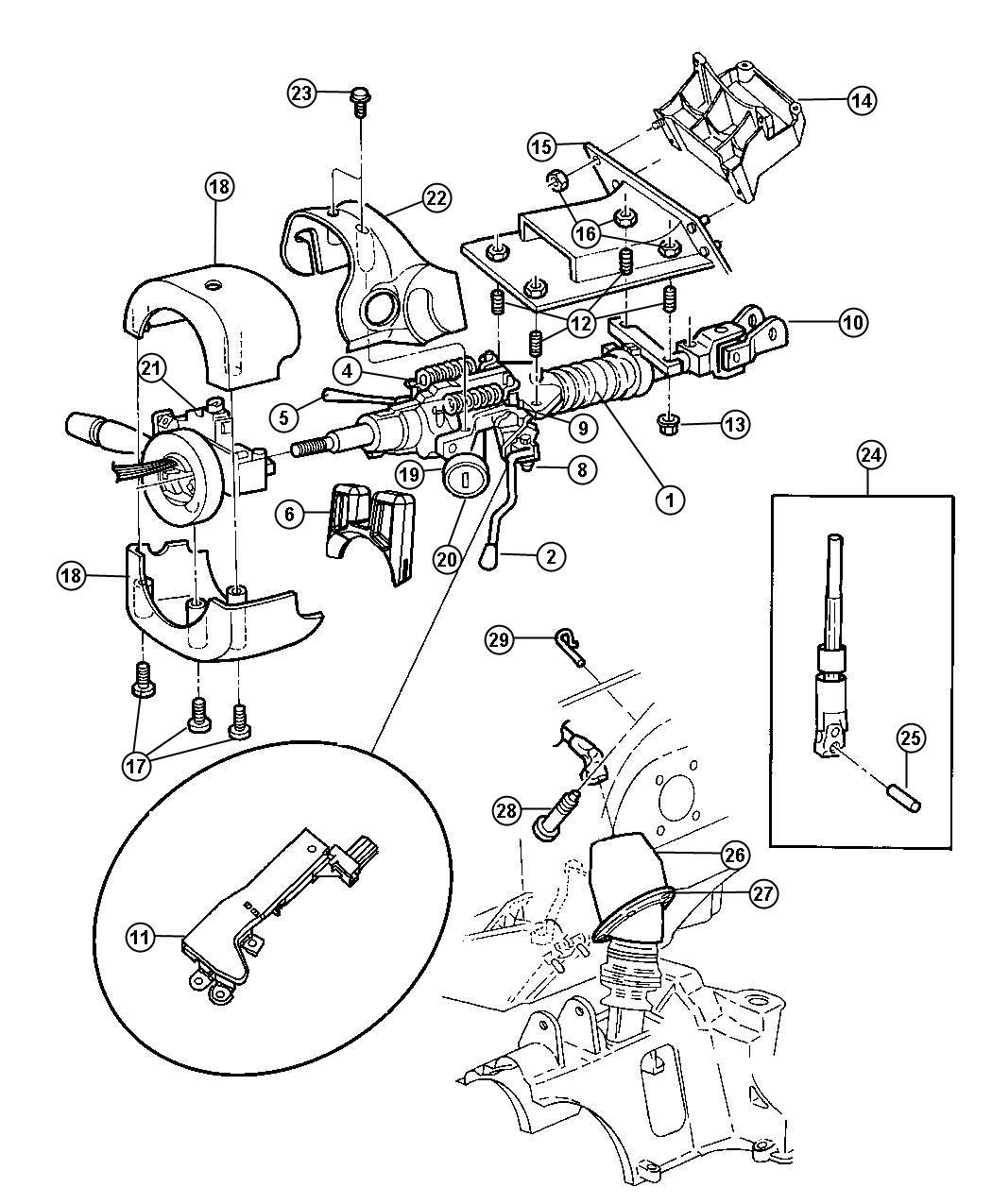 Diagram Corvette Steering Column Diagram Full Version Hd