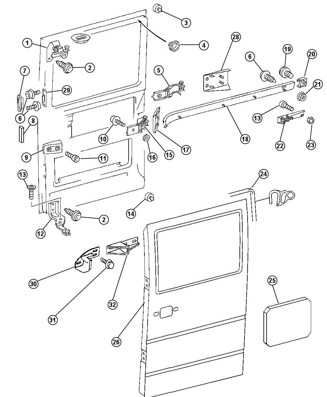 Sliding Door Parts May