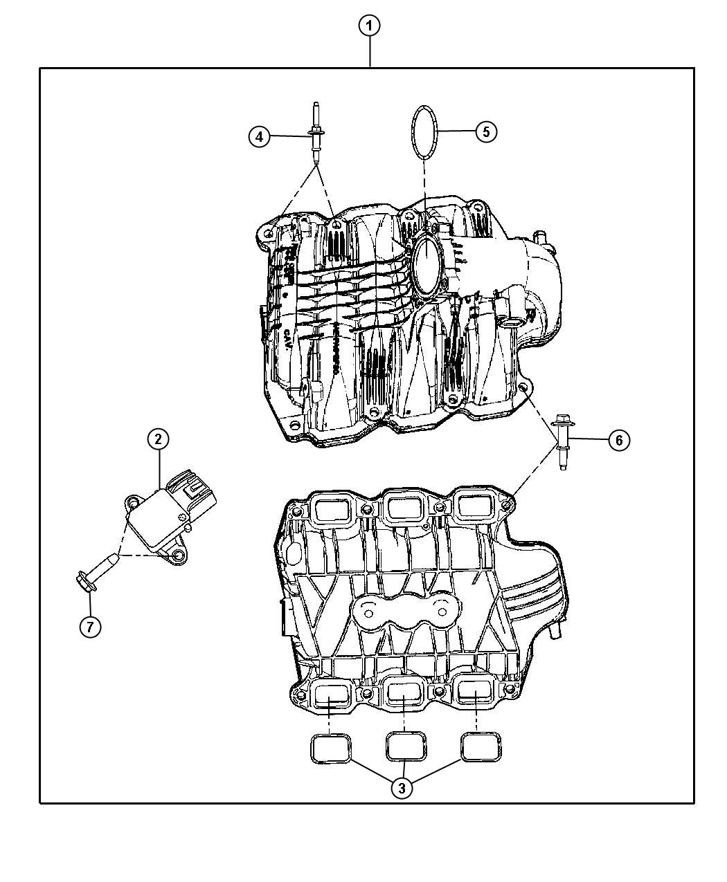 Dodge Charger R T Sensor Map