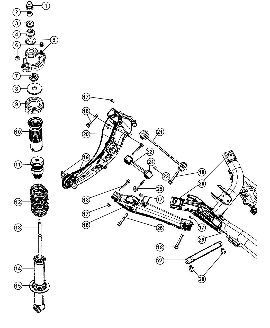 Service Manual Jeep Patriot Removing From A Struts