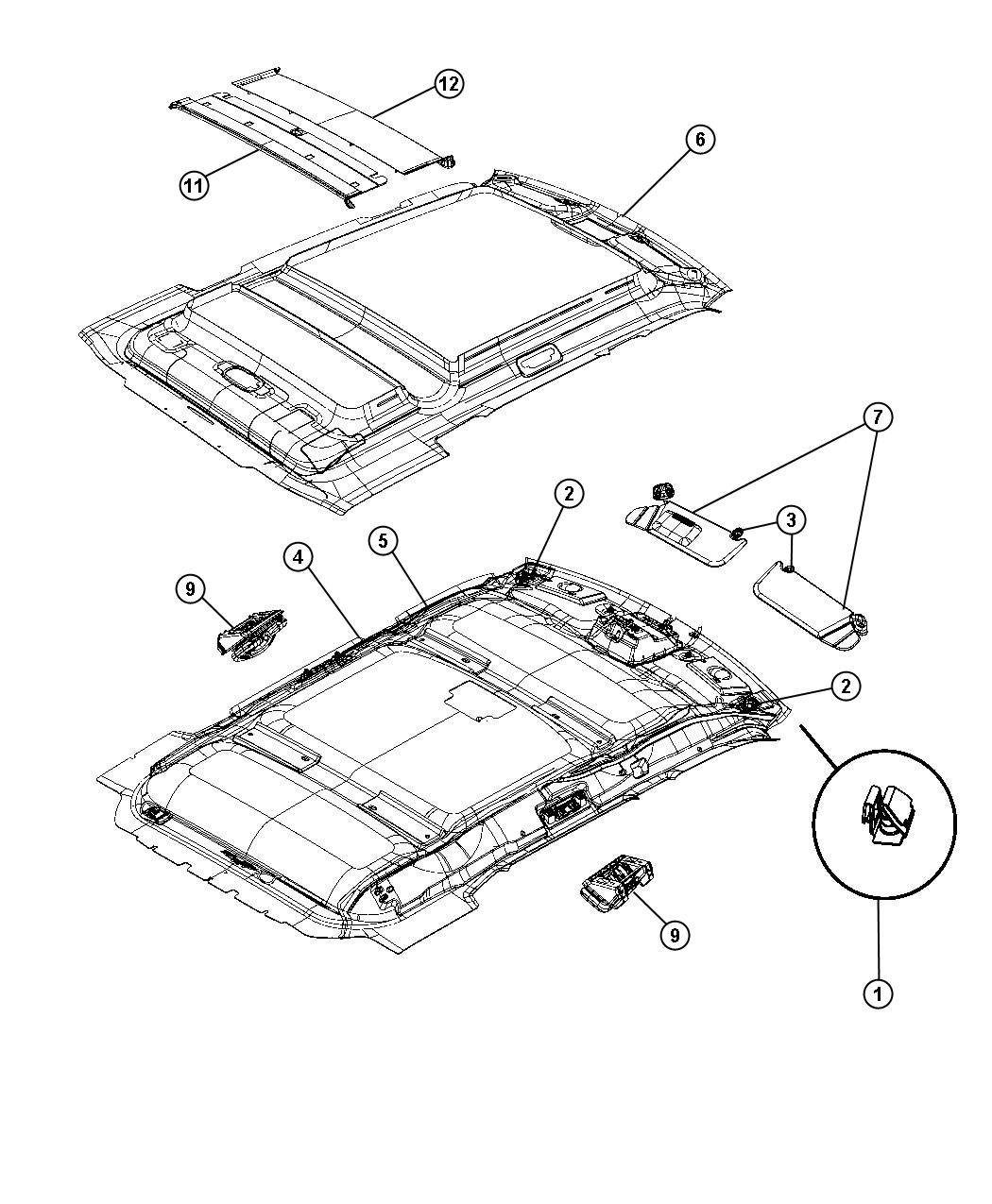Jeep Liberty Sky Slider Parts Diagram Jeep Auto